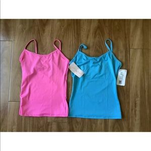 Lot of 2 camis by Natalie Dancewear Sz Small